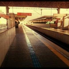 Photo taken at Estação Guaianases (CPTM) by Ederson B. on 11/17/2012