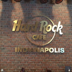 Photo taken at Hard Rock Cafe Indianapolis by James P. on 4/18/2015
