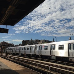 Photo taken at MTA Subway - Marcy Ave (J/M/Z) by Rich K. on 6/12/2013