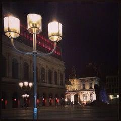 Photo taken at Place Louis Pradel by Marc C. on 5/14/2013