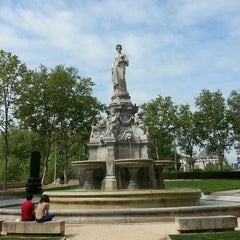 Photo taken at Place du Maréchal Lyautey by Marc C. on 5/8/2013