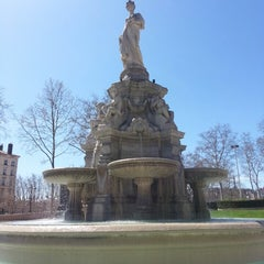 Photo taken at Place du Maréchal Lyautey by Marc C. on 4/13/2013