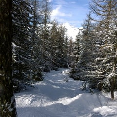 Photo taken at Mont Blanc - 4 by Benoit M. on 2/3/2014