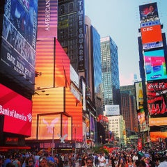 Photo taken at Times Square by Sebastian H. on 7/15/2013