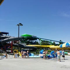 Photo taken at Roaring Springs Water Park by Chris R. on 7/4/2014