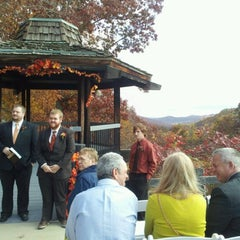 Photo taken at Shawnee State Park Lodge by Jeremy N. on 10/20/2012