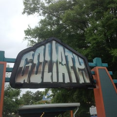 Photo taken at Goliath by Jessica W. on 6/6/2013
