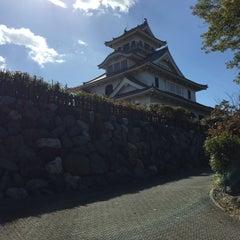 Photo taken at 長浜城 (長浜城歴史博物館) by Raikknen H. on 10/25/2015