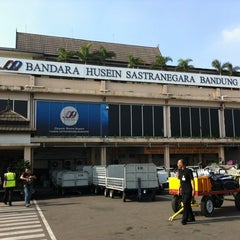 Photo taken at Husein Sastranegara International Airport (BDO) by Iwan S. on 12/12/2012