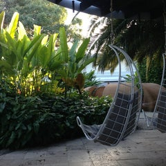 Photo taken at The Standard Spa, Miami Beach by Corbin K. on 1/25/2013