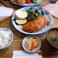 Photo taken at キッチン米一 by Fujita K. on 3/12/2014