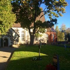 Photo taken at Liedon kirkko by Weera R. on 10/3/2015
