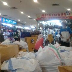 Photo taken at Pusat Grosir Senen Jaya by Citra W. on 7/27/2013