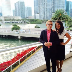 Photo taken at Azul at Mandarin Oriental, Miami by Sandra A. on 5/31/2015