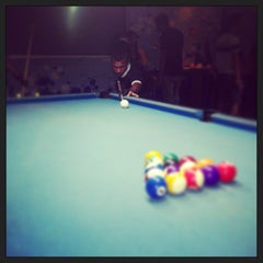 Photo taken at Berlian Billiard & Cafe by TJohno S. on 7/4/2013