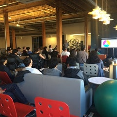 Photo taken at TechCrunch HQ by Sergio ionele P. on 6/25/2014