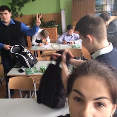 Photo taken at Школа №7 by Elya B. on 4/8/2014