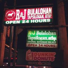 Photo taken at R&J Bulalohan by Regina A. on 10/14/2012