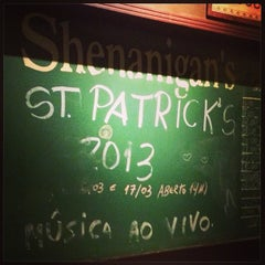 Photo taken at Shenanigan's by thissianne on 3/17/2013
