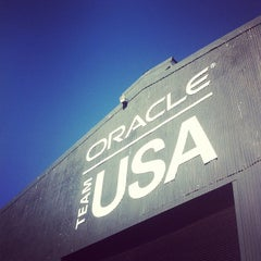 Photo taken at Oracle Team USA -Pier 80 by Drew R. on 9/19/2012