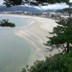 Photo taken at 浦富海岸 by 富弓 小. on 10/5/2013