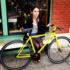 Photo taken at Oak Cliff Bicycle Company by Omar V. on 10/6/2012