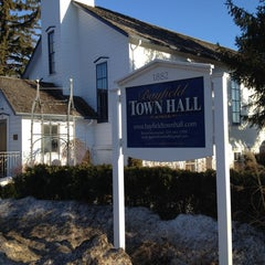 Photo taken at Bayfield Town Hall by Joseph R. on 4/5/2014