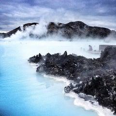 Photo of Blue Lagoon (Bláa Lónið) in Grindavík, Re, IS