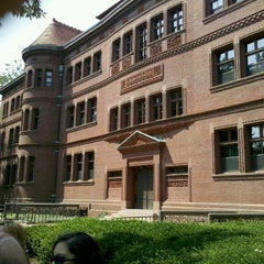Photo taken at Sever Hall by Steve R. on 8/19/2011