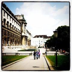 Photo taken at Burggarten by Franz K. on 5/13/2011