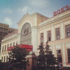 Photo taken at Савеловский вокзал / Savyolovsky Rail Terminal by Timur S. on 7/10/2012