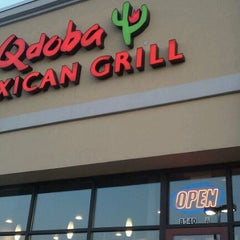 Photo taken at Qdoba Mexican Grill by Stephanie B. on 8/31/2011