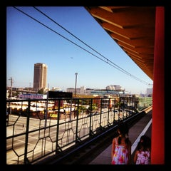 Photo taken at Metro Gold Line - Chinatown Station by iPhone J. on 7/29/2012
