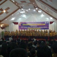 Photo taken at GMIM Getsemani Sario Kota Baru by Semmy L. on 10/29/2011