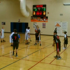 Photo taken at Falcon Creek Middle School by Joe M. on 10/18/2011
