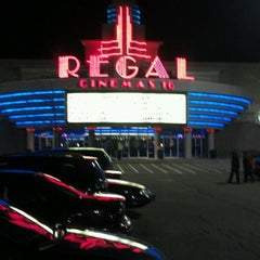 Photo taken at Regal Cinemas Willoughby Commons 16 by Matt N. on 11/1/2011