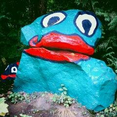 Photo taken at Frog Rock by Gary B. on 10/8/2011