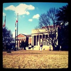 Photo taken at University of Alabama Quad by John Michael S. on 2/17/2011