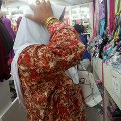 Photo taken at Muaz Textile by Zalini L. Z. on 4/6/2012