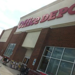 Photo taken at Office Depot by Dalton C. on 3/11/2011
