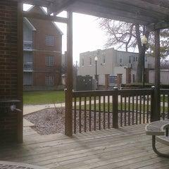 Photo taken at Old Main by Liz Pierce on 3/27/2011