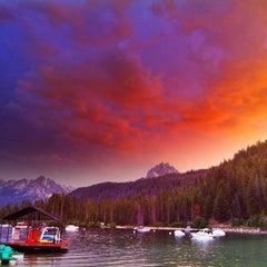 Photo taken at Redfish Lake Lodge by Rob F. on 7/31/2011