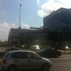 Photo taken at Metro Służew by Melisa M. on 7/30/2012