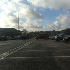 Photo taken at Birch Westbound Motorway Services (Moto) by Rachel Louise H. on 1/19/2012