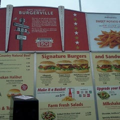 Photo taken at Burgerville, USA by Scott L. on 11/21/2011