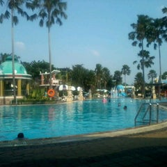 Photo taken at Marcopolo Water Adventure by Rahma D. on 5/26/2012