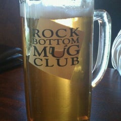 Photo taken at Rock Bottom Restaurant & Brewery by Emily B. on 10/7/2011