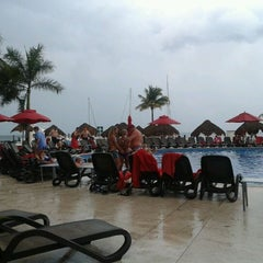 Photo taken at Temptation Resort & Spa Cancun by Seo Web Mexico on 1/27/2012
