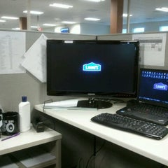 Photo taken at Lowe's Home Improvement - Corporate Office by Jeremy J. on 11/4/2011