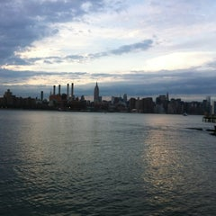 Photo taken at Williamsburg Waterfront by Steve R. on 3/24/2012